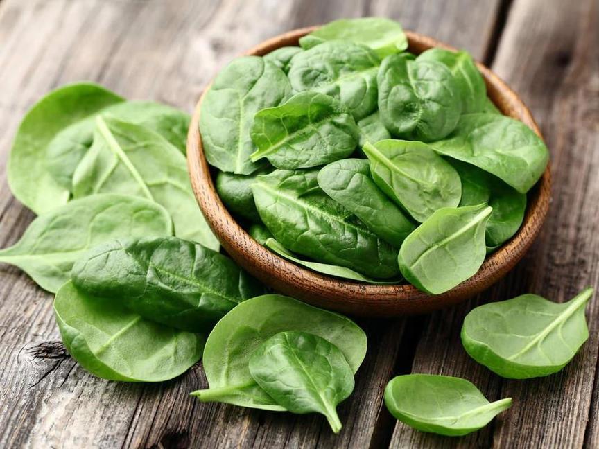 Король овощей: лечебные свойства шпината